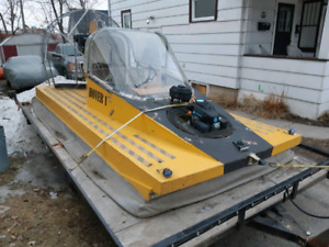 Hovercraft with trailer