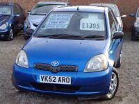 2002 Toyota Yaris Vvti Colour Collection 1