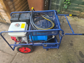 Air compressor hydrovane honda engine
