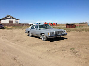 1985 Mercury Grand Marquis Grey Sedan
