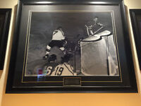 Hockey Jean Beliveau & Bobby Hull All Star game Signed Picture