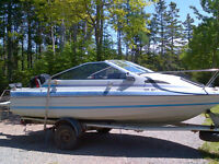 18 Ft Bayliner- 90 HP Mercury and Trailer