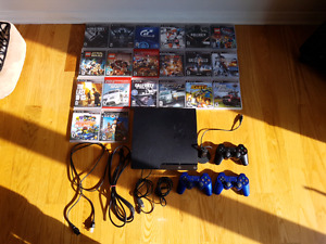 Ensemble Playstation 3 slim 320gb