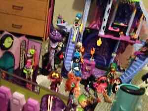 Huge monster high collection