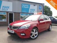 2012 Kia ceed 3 1.6TD ( 113bhp ) C'EED AUTOMATIC DIESEL ONLY 26K ! STUNNING !