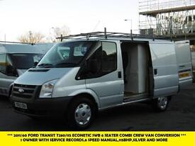 2011 FORD TRANSIT 280/115 ECONETIC SWB 6 SEATER CONVERSION COMBI CREW VAN DIESEL
