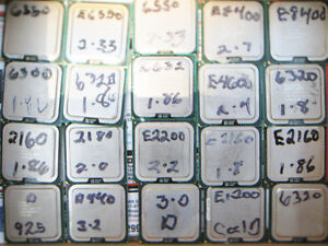 25 Intel Dual Core CPU's for 20