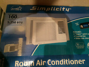 Window air conditioner.