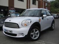 2012 62-Reg Mini Countryman Cooper D,ALPINE WHITE,FULL MINI HISTORY,GREAT VALUE!