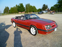 1986 Mustang GT Conv,Low Mile US car