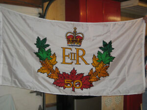 Queens Golden 50 year flag and poster