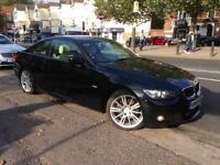 2010 BMW 3 SERIES 320D M SPORT Black Manual Diesel