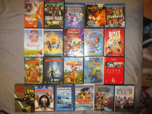 DISNEY AND OTHER DVDS&BLURAYS SOME BRAND NEW