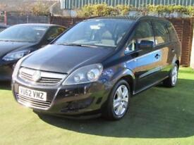 2012 Vauxhall Zafira 1.7 TD Exclusiv 5dr