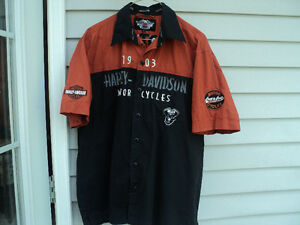 HD garage shirt XL
