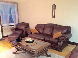 Fully furnished and renovated 4 1/2 for rent - 4665 boul. Grand