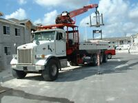 Class 3 or 1  Driver/Crane operator Required