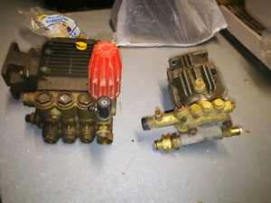 2 HIGH PRESSURE WATER PUMP