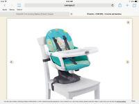 Italian Space Saver High Chair- Il Mundo deal Bambino