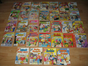 ARCHIE COMICS ASSORTED YEARS - 32 IN TOTAL