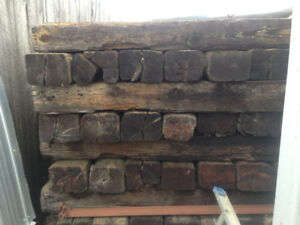 Used Railroad Ties for Sale