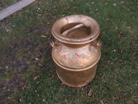 ANTIQUE CREAM CAN - GREAT SHAPE
