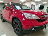 **RESERVED**Honda CR-V 2.0 i-VTEC EX Red Suv 4X4 Leather Sat Nav WARRANTY