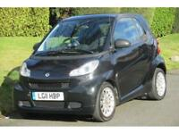 Smart fortwo 1.0mhd ( 71bhp ) Softouch 2011MY Passion (FSH)SAT/NAV+PANORAMIC SUN