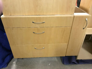 Assorted kitchen cupboards
