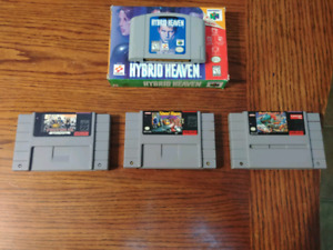 Snes games, n64 game for sale
