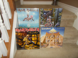"IRON MAIDEN Re-Released VINYL RECORDS ""Sealed"""