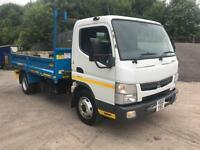 2012 12 Mitsubishi Canter 7c15 EEV Thompson steel dropside tipper 119kms