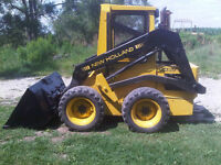 New Holland L455 Diesel Skid Steer