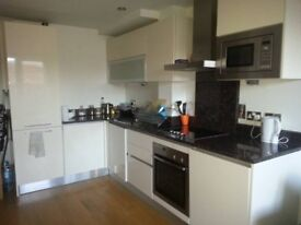 Bright double bedroom with private bathroom in whitechapel, modern flat with balcony