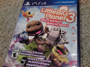 Little Big Planet 3 PS4 Day One Edition
