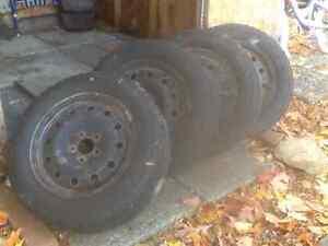 Winter Tires and Rims Kingston Kingston Area image 1