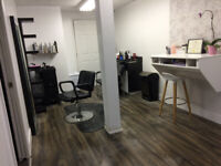 Salon chair available Monday - Friday. $500 monthly.