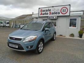 59 FORD KUGA 2.0 ZETEC TDCI 2WD 134 BHP DIESEL - 53628 MILES - IDEAL FAMILY CAR
