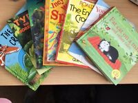 7 really good used children's books that captures a child's imagination for sale worth £54.93 new
