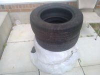 4  kumho  summer tires-almost new