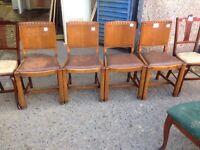 Chairs x8