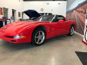 1997 Chevrolet Corvette Rem Roof Auto Coupe Low Kms