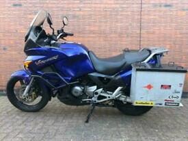 2007 HONDA XL 1000 VA-6 - VARADERO XL1000 - MOTORCYCLE - METAL LUGGAGE