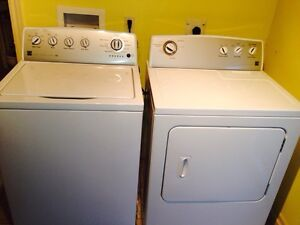 He washer and dryer