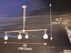 MOVE*Lowest SALE--PENDANT  4-Tracking-Lights