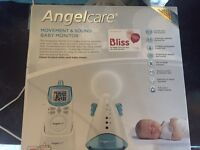 Angel-care movement & sound baby monitor