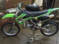 2011 kx85 BW swap for crf150