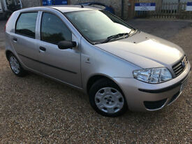 2006 '06' Fiat Punto 1.2 Petrol. Manual. 5 Door. Family. First car. Px Swap