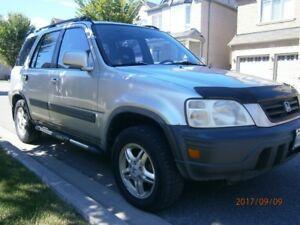 WINTER BEATER - 1999 Honda CR-V EX Sport Utility Truck   *AS IS*