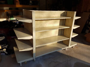 Metal Store Shelving (2 units $175for both)